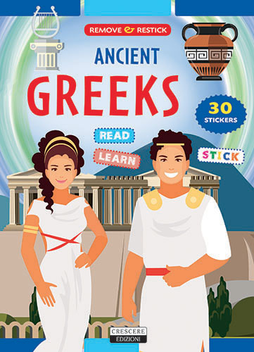 Remove & Restick the Ancient Peoples – Creabooks – Illustrated books for  international clients
